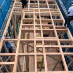 【横浜の小さな2階建ての家】ハウスワンさん設計・施工の「横浜の小さな2階建ての家」が上棟しました